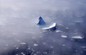 Eisberg im Meer: Wie beim Bewusstsein liegen 90% unter der Oberfläche